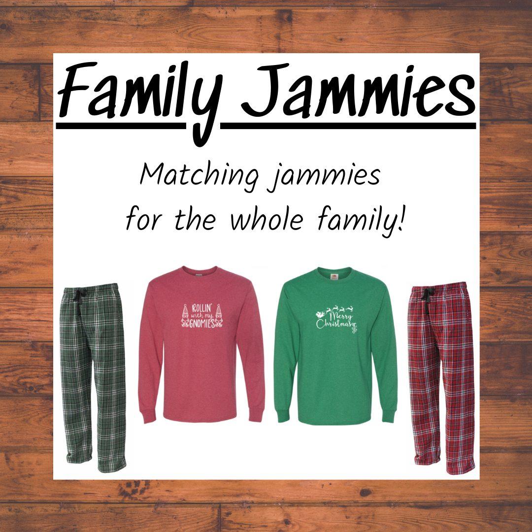 Family Jammies Longsleeves
